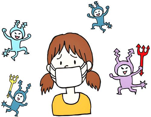 アレルギーの子供