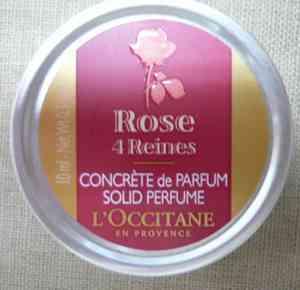 ロクシタンの練り香水