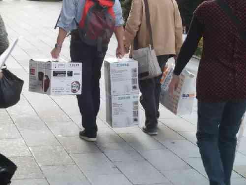 海外観光客のショッピング