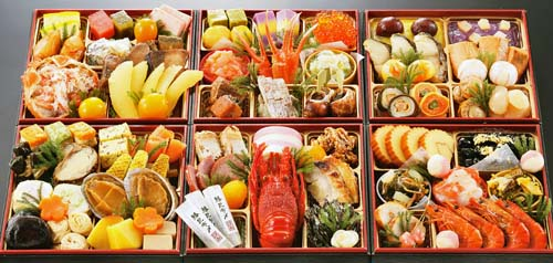 京都祇園のおせち