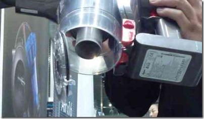 コードレスのハンディ掃除機