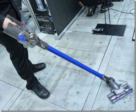 ステック型掃除機