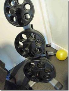 ライザップトレーニングルームのバーベル