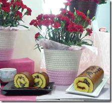 母の日和菓子とカーネーション鉢植えセット