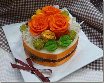 フラワーケーキオランジェ
