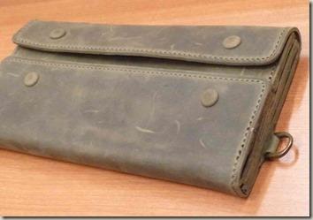 紳士用牛革長財布