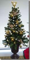 ベルメゾンエレガンスゴールドクリスマスツリー