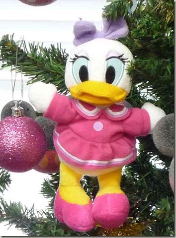 ミッキーフレンズクリスマスツリーのデイジーダックオーナメント