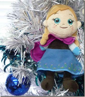 アナと雪の女王クリスマスツリー アナオーナメント