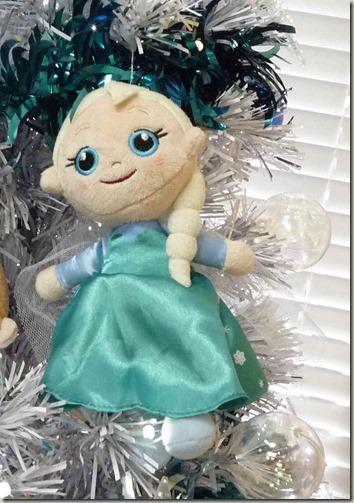 アナと雪の女王クリスマスツリー エルサオーナメント