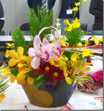 お正月花は洋風アレンジメントで、モダンに歳神様をお出迎え
