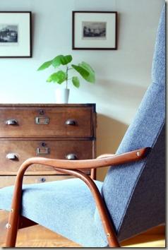 北欧古い椅子