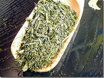 緑の濃いお茶掛川茶