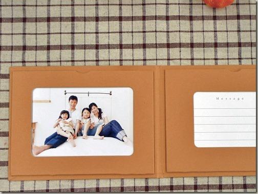画像付きメッセージカード