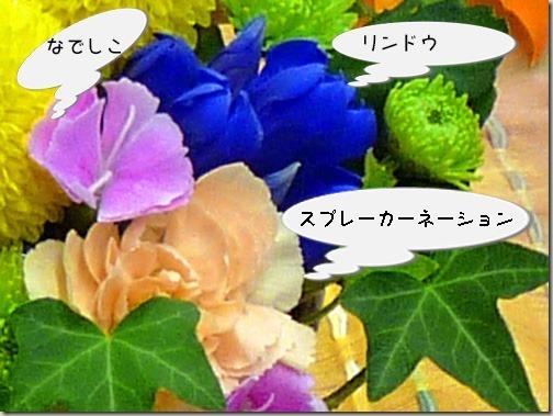 お月見飾りの花