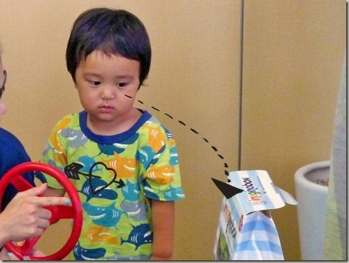 知育玩具で心ばかりのプレゼント