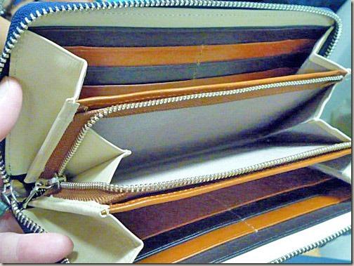 大人カジュアルな長財布
