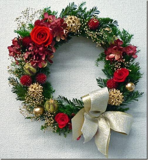 家族で心温まるクリスマスに、似合うクリスマスリースなら