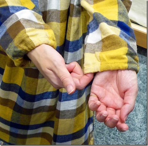 チュニックのパジャマ