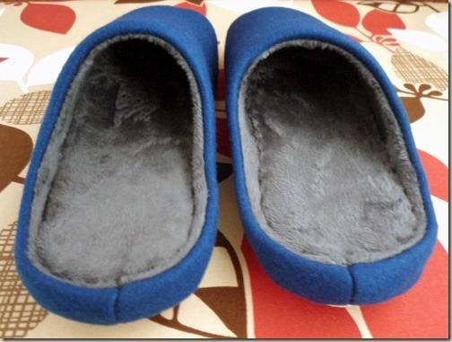 足にフィット へたりにくい洗えるスリッパ