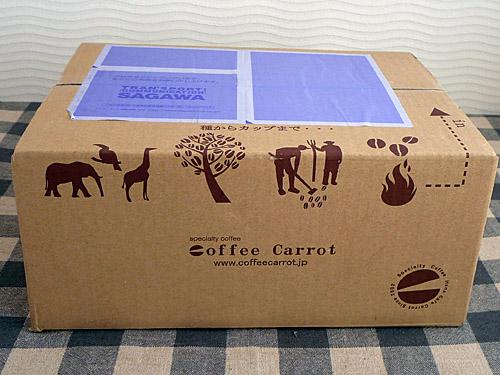 きゃろっとコーヒーの箱