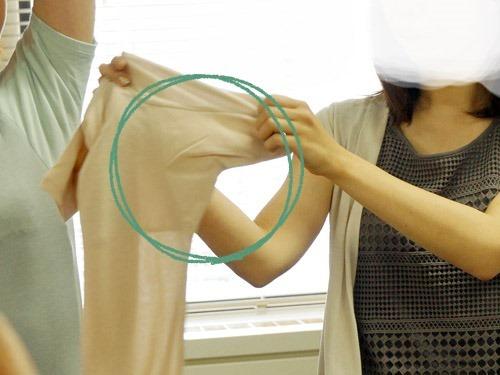 脇汗が止まらない人のためのインナー