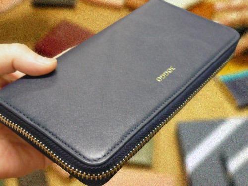 本革ラウンド財布