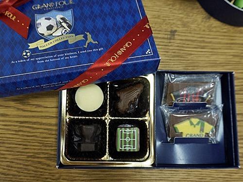 サッカーチョコレート