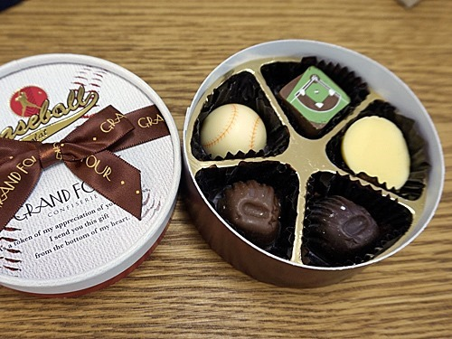 野球チョコレート