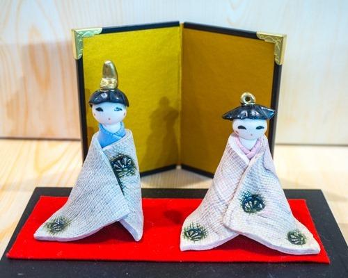 瀬戸織部焼雛人形