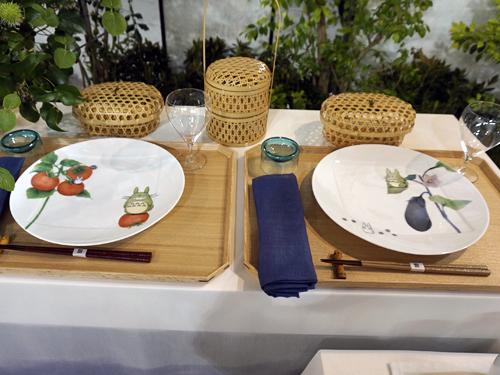 ノリタケのトトロの皿