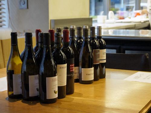 ワイン講習会で試飲したワイン