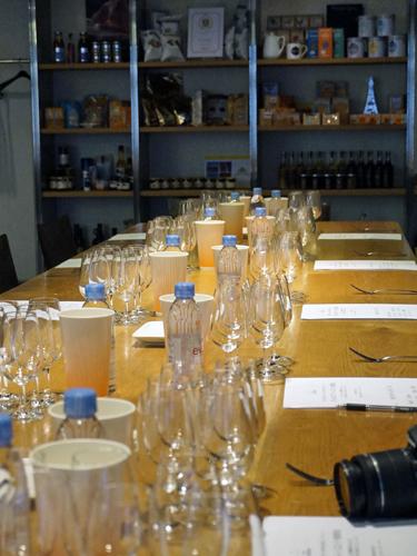 ワイン講習会の会場
