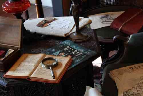 イギリスの探偵の部屋イメージ