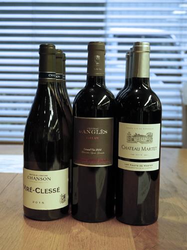 フランスワイン3本