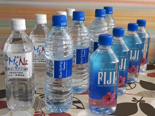 シリカ入りの水3種類セット