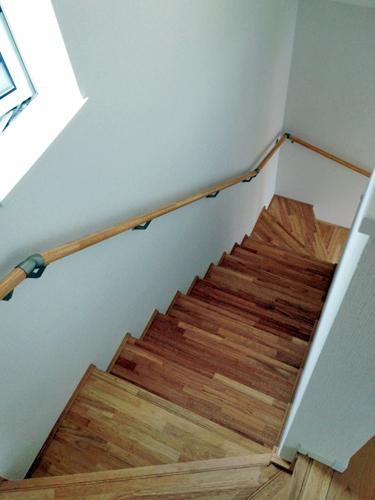 家庭の階段