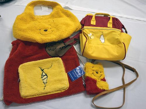 クマのプーさんバッグ色々