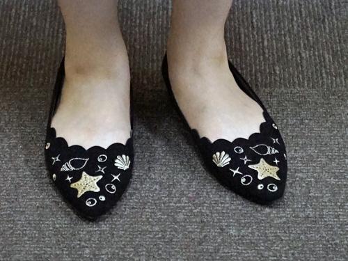 アリエル町娘の靴