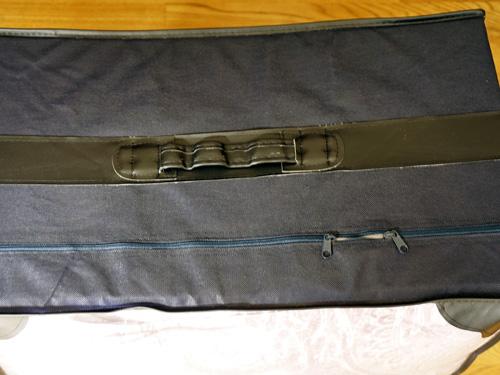 昭和西川の羽毛掛布団収納ボックス
