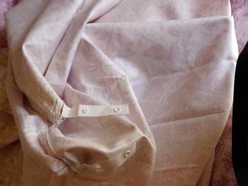 昭和西川の羽毛掛布団しゅうのうぼっくすカバー