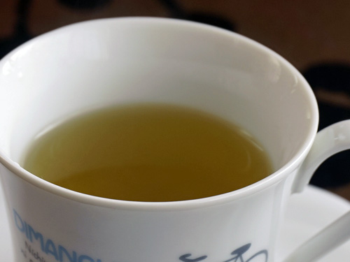 熱湯を注いたイェルバ・マテ茶