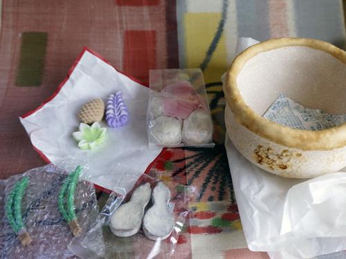 茶寿器と千菓子
