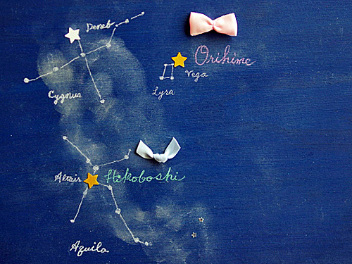 牽牛星と織女星
