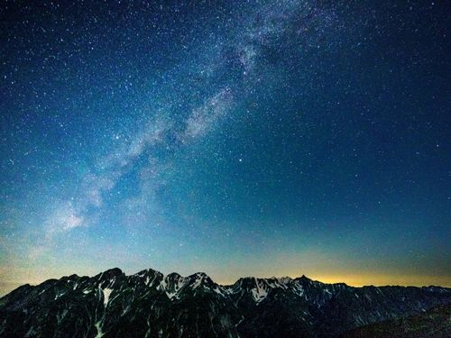 暗い夜空の天体観測