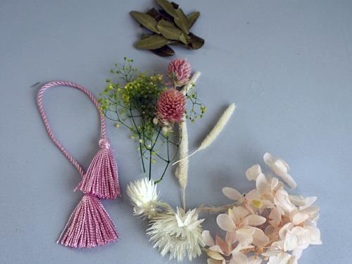 ハーバリウム手作りキットの花材