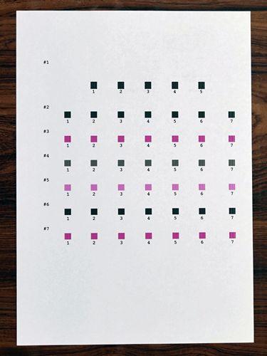 Colorioの印刷位置を調節